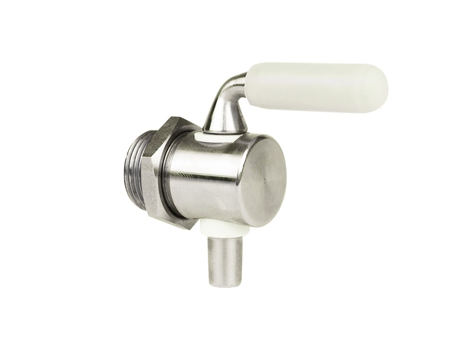 Stainless steel drain valve for FD fermentation tank
