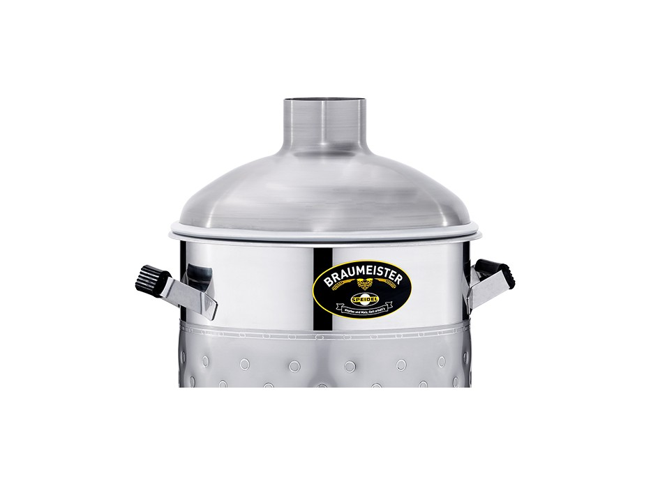 Stainless steel lid for 20-litre Braumeister