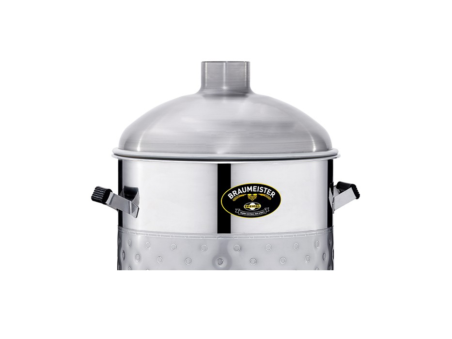 Stainless steel lid for 50-litre Braumeister