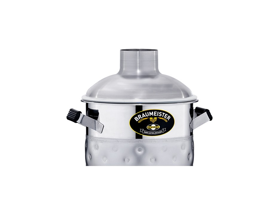 Stainless steel lid for 10-litre Braumeister