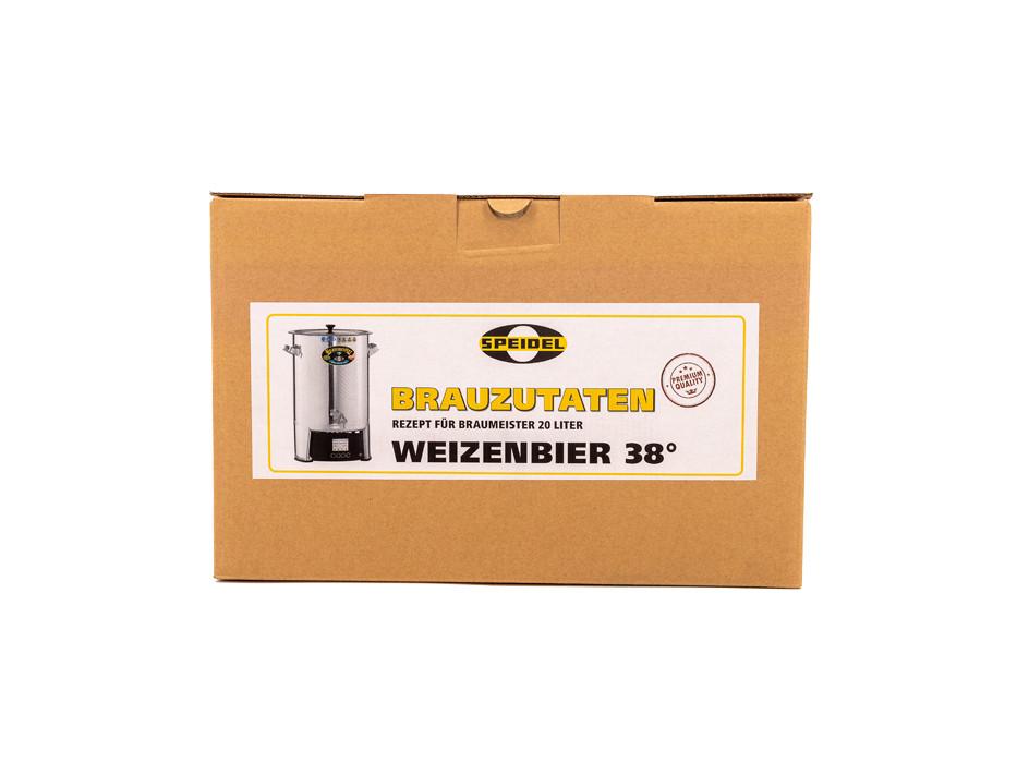 Brauzutaten Weizenbier 38° für 20l Braumeister