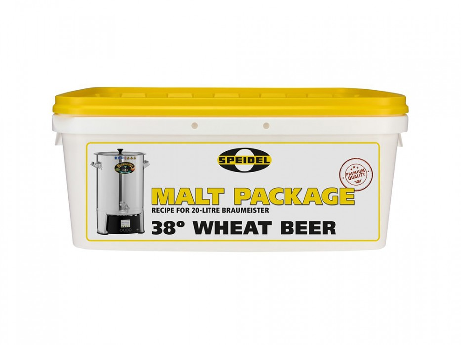 Brewing ingredients Wheat Beer 38° for 20-litre Braumeister