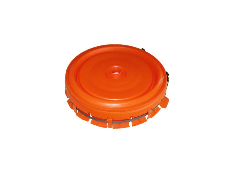Deckel komplett für Gärfass rund 60 Liter, 120 Liter
