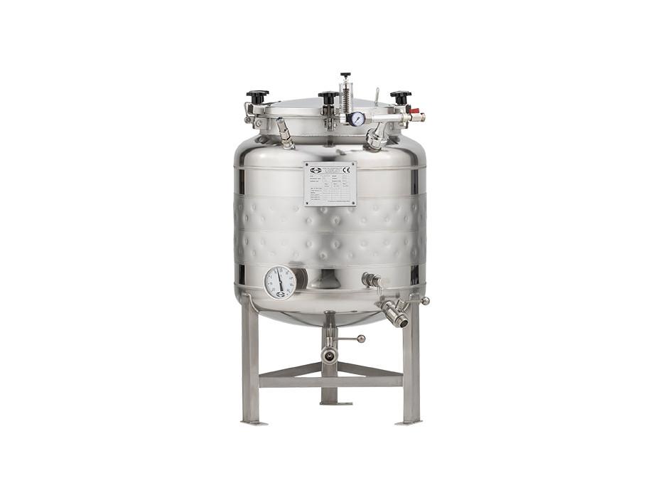 Edelstahl-Drucktank 1.2B