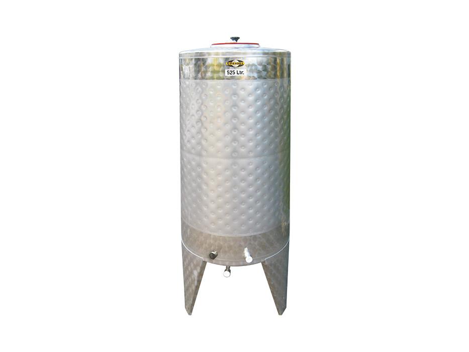 Stainless steel fermentation tanks