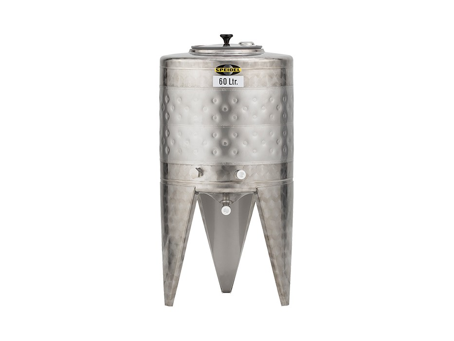 Stainless steel fermentation tanks (non-pressure)