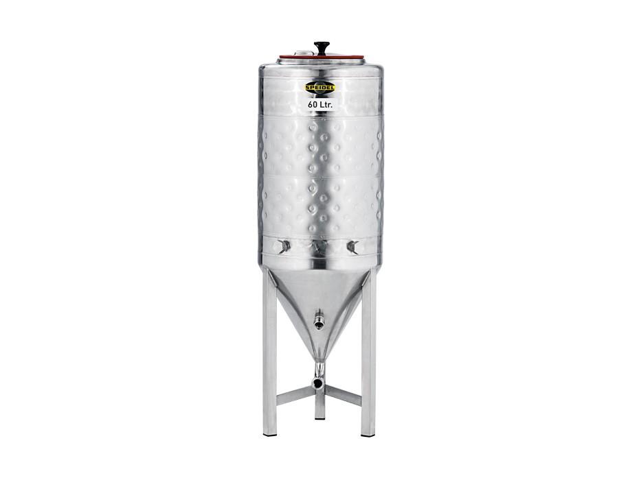 Set »Edelstahl-Konus-Gärtank 60 Liter«