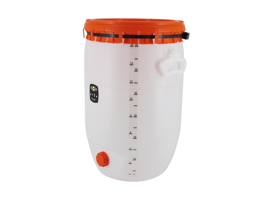 Litre scale for 60-litre beverage barrel