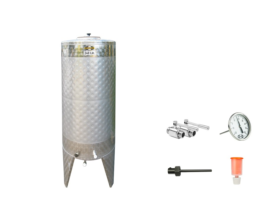 »Stainless steel fermentation tank« KIT