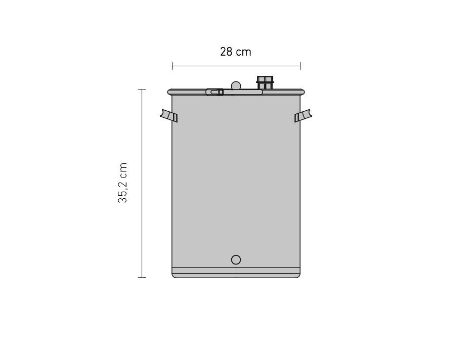 Set »Gär- und Lagerfass UF 15 Liter«