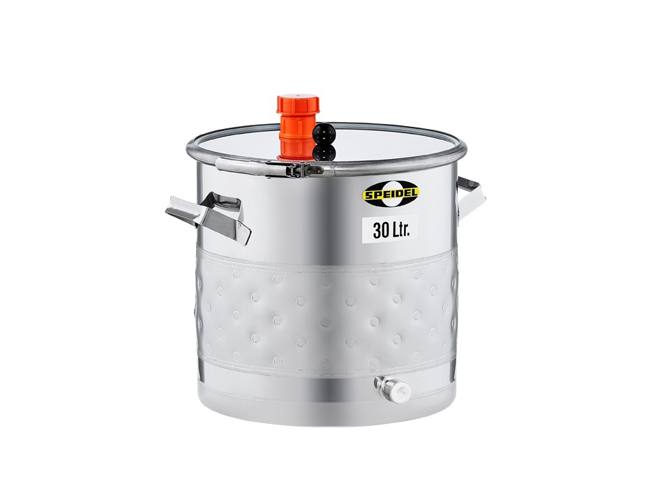 »Fermenter and storage barrel UF with double jacket« KIT